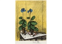 primeveres bleues by bernard buffet