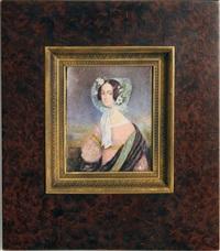 portrait de jeune femme by jean urbain guerin