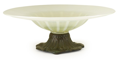 bowl by louis comfort tiffany