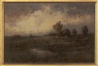 grazing cattle in a field by paul r. koehler