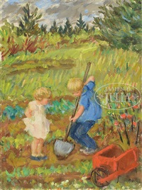 il faut cultiver notre jardin by waldo peirce