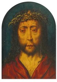 christus als schmerzensmann by aelbrecht bouts
