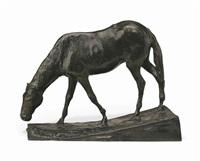 cheval à l'abreuvoir by edgar degas