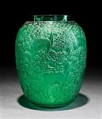 biches vases (set of 5) by rené lalique