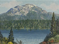 diamond lake, oregon by carl sammons