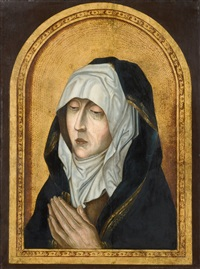 the virgin mourning by aelbrecht bouts