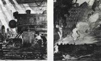baldwin locomotive works by thornton oakley
