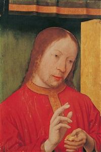 christus segnet das brot by jan (joannes sinapius) mostaert