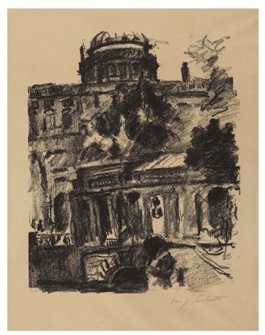schlossfreiheit in berlin by lovis corinth