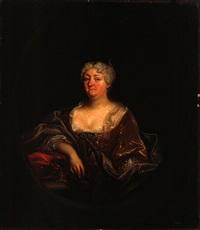 porträt einer dame by christian phillipe von bentum