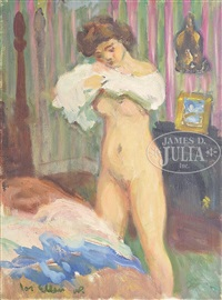 interior nude by waldo peirce