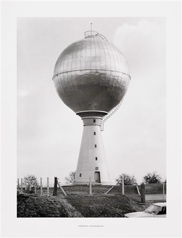 2 wassertürme 2 works by bernd and hilla becher