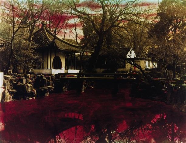 chinese landscape suzhou garden by hong lei