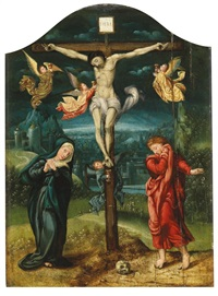 christus am kreuz by dutch school-southern (16)