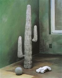 still life, cactus by yoo hyun mi