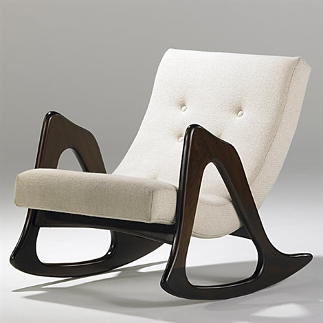 Rocking Chair By Adrian Pearsall