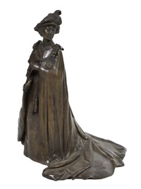 untitled (queen elizabeth ii, commemorating the silver jubilee) by ronald van ruyckevelt