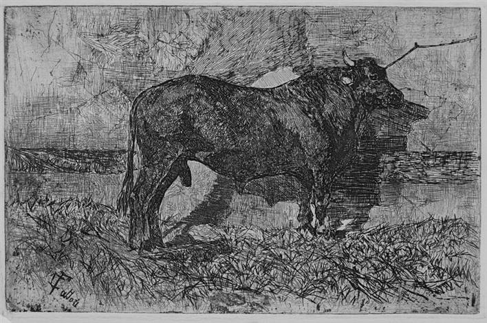 il toro by giovanni fattori