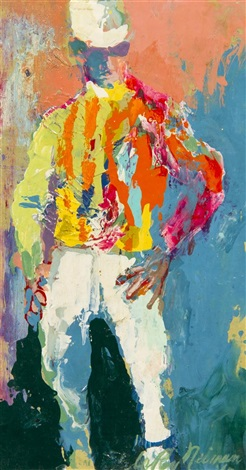 jockey by leroy neiman