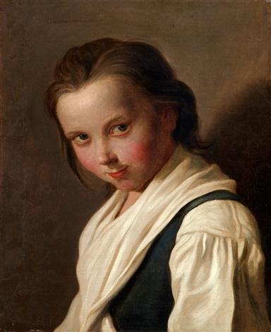 porträtt av en flicka collab wstudio by pietro antonio rotari
