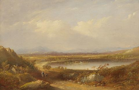 edinburgh from the south by henry g duguid