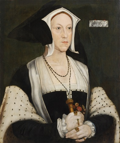 bildnis margaret wotton marchioness of dorset by hans holbein the younger