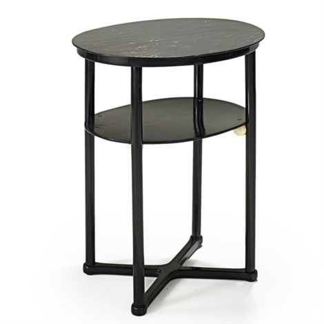 occasional table by josef hoffmann