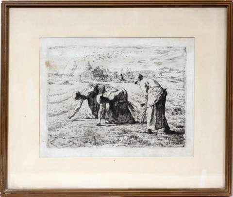 les glaneuses (the gleaners) by jean françois millet