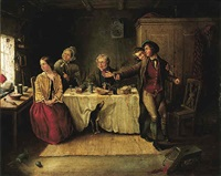 scottish domestic scene by j. davidson
