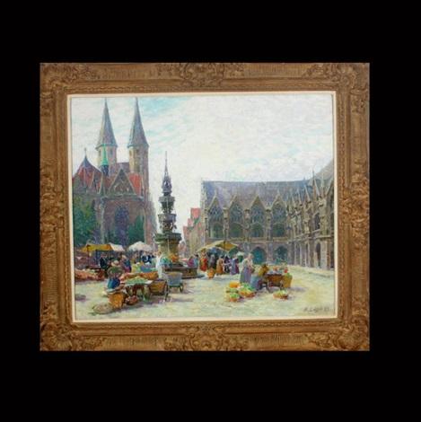 market scene by anna löhr