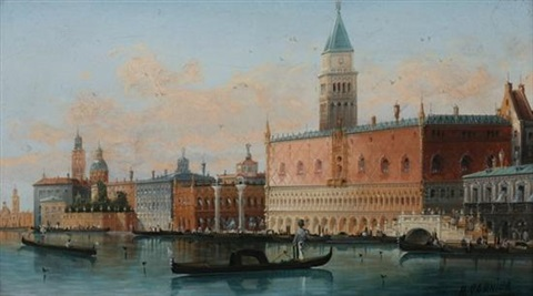 doges palace venice by h garnier