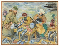 copenhagen fish market by waldo peirce