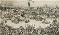 legendarische figuren van antwerpen by rené de koninck
