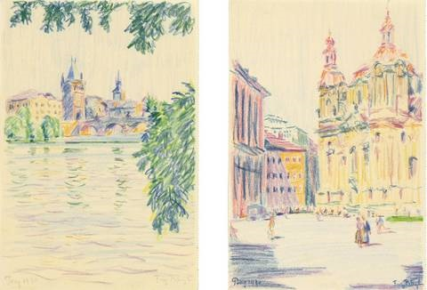 prag 4 works from sketchbk by fritz bleyl