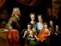 familienbildnis by adriaan van der burg