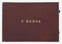 sammelalbum (53 works) by françois bensa