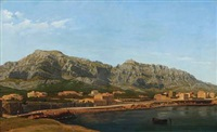 rocky coast near marseilles by carl dahl
