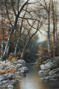 autumn, new england by william henry hilliard