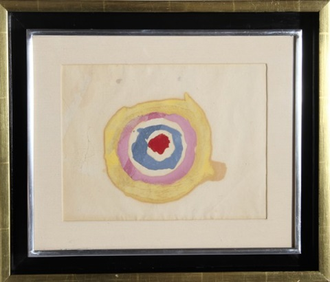 kenneth noland target watercolor by kenneth noland on artnet