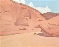canon de chelly, arizona by g. barry atwater