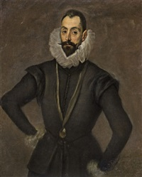 portrait of a gentleman by el greco