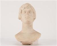 bust of a young boy by lorenzo bartolini