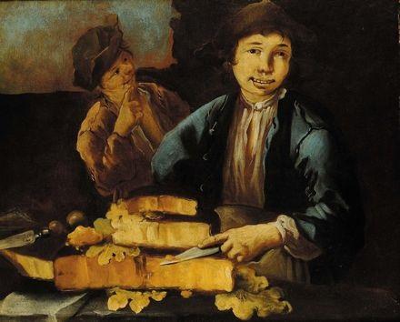 venditore di formaggi by giacomo francesco cipper
