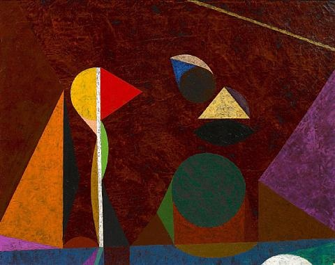 darkscape by frederick hammersley
