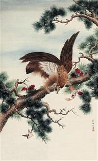松鹰 by liu bingjun