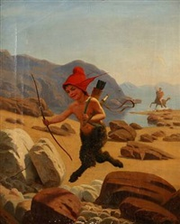 a faun on the run by wilhelm pacht