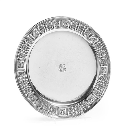 tiffany u0026 co. sterling silver cake plate by tiffany ...  sc 1 st  Artnet & Tiffany Co. Sterling Silver Cake Plate by Tiffany u0026 Co. on artnet