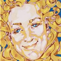 serie von 3 selbstporträts (3 works) by katrin heichel