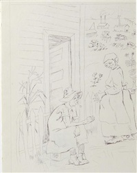 at home, charleston by george biddle