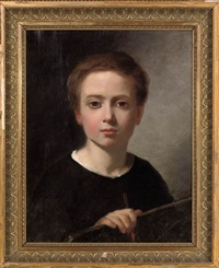 the young artist by jean-pierre monceret